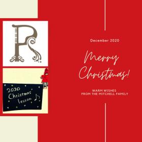 レイディエンス総合音楽院のクリスマスレッスン2020
